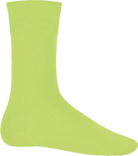 K813 Kariban Unisexe Coton ville Confortable Chaussettes Full Leg Length Bracelets de cheville