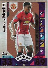 2016 / 2017 EPL Match Attax Limited Edition Bronze (LE6) Anthony MARTIAL Man U.