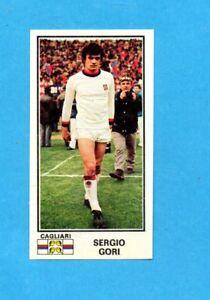 PANINI-CALCIATORI-1974-75-Figurina-n-73-SERGIO-GORI-CAGLIARI-Recuperata