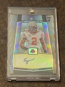 2020-Panini-Obsidian-Chase-Young-RC-Rookie-Card-Autograph-Auto-Gold-3-10