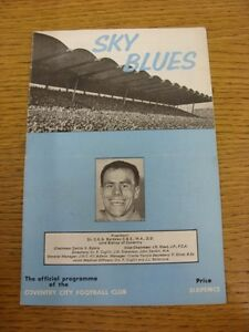 11121965 Coventry City v Huddersfield Town  Crease Fold Scores Noted Inside - Birmingham, United Kingdom - 11121965 Coventry City v Huddersfield Town  Crease Fold Scores Noted Inside - Birmingham, United Kingdom