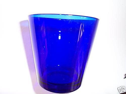 VINTAGE Blau Blau Blau DEPRESSION FINISH GLASS   GLASS 0610cf