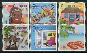 Curacao 2019 Neuf Sans Charnière Tourisme Cultures Et Traditions 6 V Set Chiens Plages Bateaux Timbres ExtrêMement Efficace Pour Conserver La Chaleur