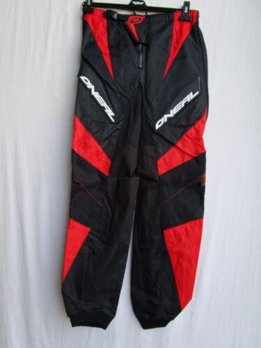 ONEAL Element MENS motocross pants  RED sz 28 ATV BMX enduro 0162-328