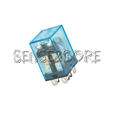 8Pin 2NO 2NC LY2NJ LY2N-J Led Lamp10A DC12V DPDT Coil Power Relay