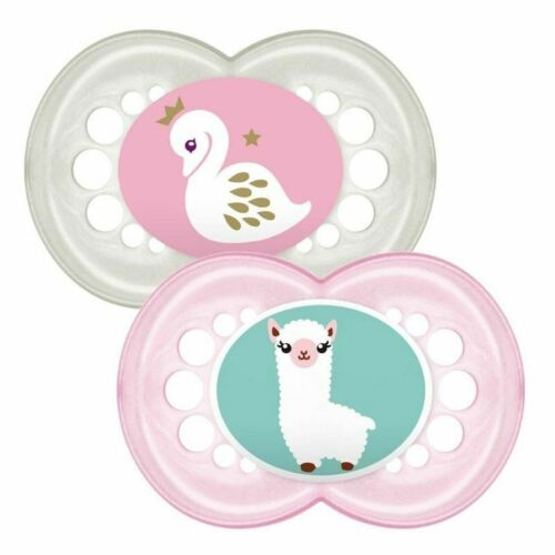 Llama MAM original Soother Plus de 12 mois Swan