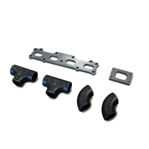 MX5//Miata 1.6 1600 T2 T25 T28 Log Turbo Manifold Fabrication Kit DIY