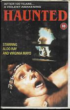 THE HAUNTED VHS VIDEO PAL UK FORMAT BIG BOX ALDO RAY VIRGINIA MAYO GOOD