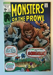 Monsters-on-the-Prowl-9-1st-Previous-Chamber-of-Darkness-HIGH-GRADE