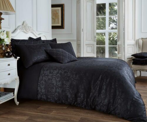 Luxury Vincenza Modern Duvet Set Quilt Cover Bedding with Pillow Cases All Sizes