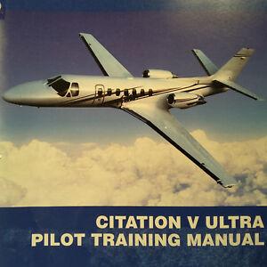 cessna citation v ultra pilot training manual ebay rh ebay com Cessna 560 Citation Ultra Dimensions Cessna Citation Sovereign Interior
