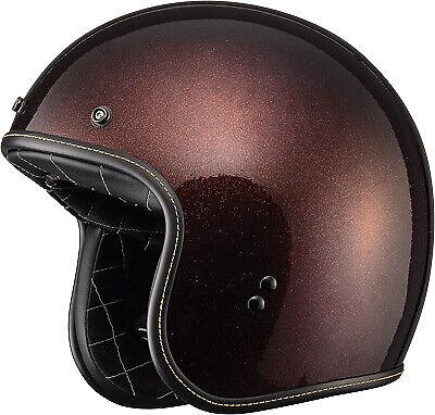 Rootbeer Brown Fly Racing .38 Open Face Helmet XLarge XL