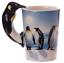 thumbnail 41 - Animal Shaped Handle Ceramic Mug Tea Coffee Cup Novelty Gift Jungle Tropical