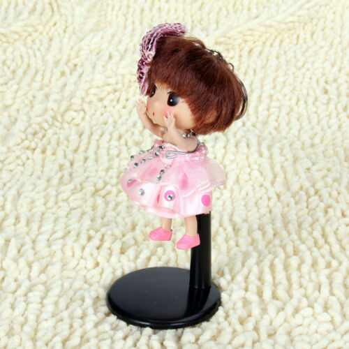 MagiDeal Doll Stand for Dolls /& Teddy Bear Display Base White// Black 11-20cm