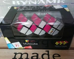 Casse-Tête Cube Triple 2X2X2 Multicube Riviera Games Neuf