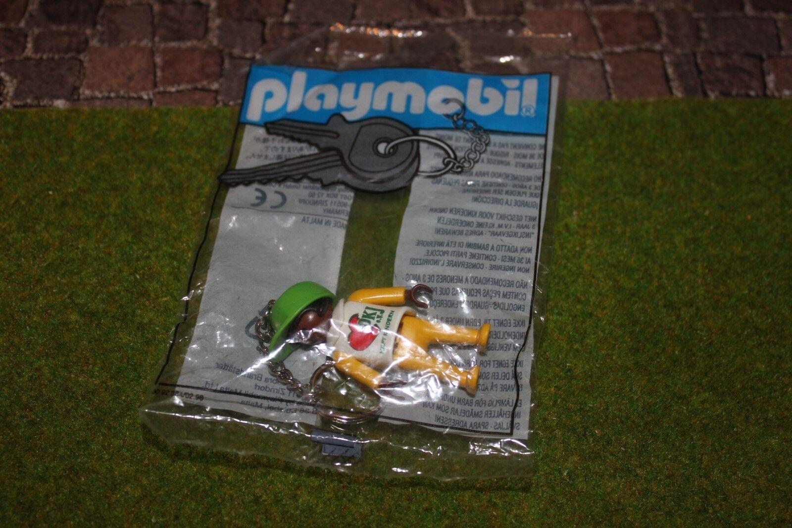 Playmobil Porte-Clés Djk Promo Figurine de Publicité Neuf   Embal. Origine