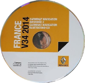 cd gps renault carminat navigation informe 2 gratuit