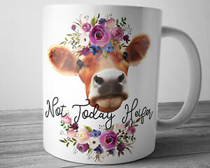 Image is loading Funny-Heifer-Quote-Mug-11-oz-Cow-Farm-