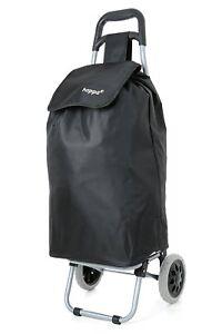 Humour Nouveau Hoppa 2 Roues Pliant Léger Shopping Mobility Cart Trolley Case Bk Uk-afficher Le Titre D'origine Produits De Qualité Selon La Qualité