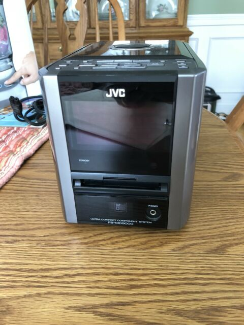 JVC FS-MD9000 Minidisc, CD, Stereo Radio  Compact Component System No  Speakers