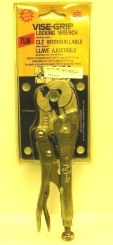 7LW Vise-Grip Verrouillage Clé Coupe-fil NEUF STOCK ANCIEN American outil 1996//1997 ou 1998