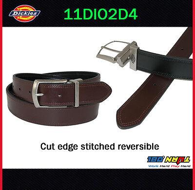 "Dickies Belt Mens 1 3//8/"" Industrial Strength Logo Belt 11DI02N9 Black Brown"