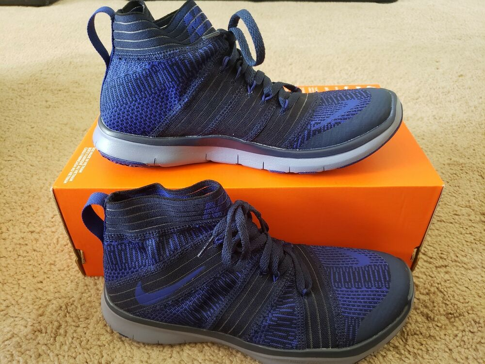 Nike Free Train Virtue chaussures athlétique Navy/Deep Royal chaussures 898052 401 Taille 6.5