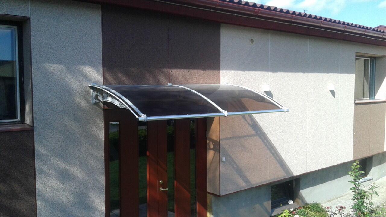 1270x2000mm DIY Door Door Door Canopy Polycarbonate Cantilever Garden Porch Patio Walkway ce6a0b