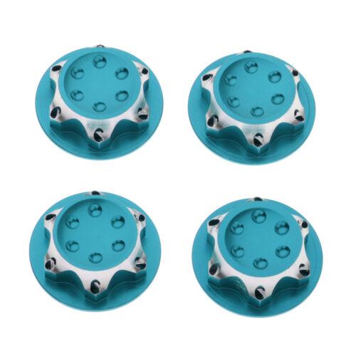4pcs 1//8 RC Car Wheel Hub Anti-Dust Cover 17mm Hex Nut for AGAMA,XRAY,HB,AE,