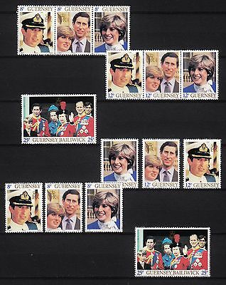 Mi 225/31 A Royal Wedding M€ 15,50 14766/ Guernsey 1981 **