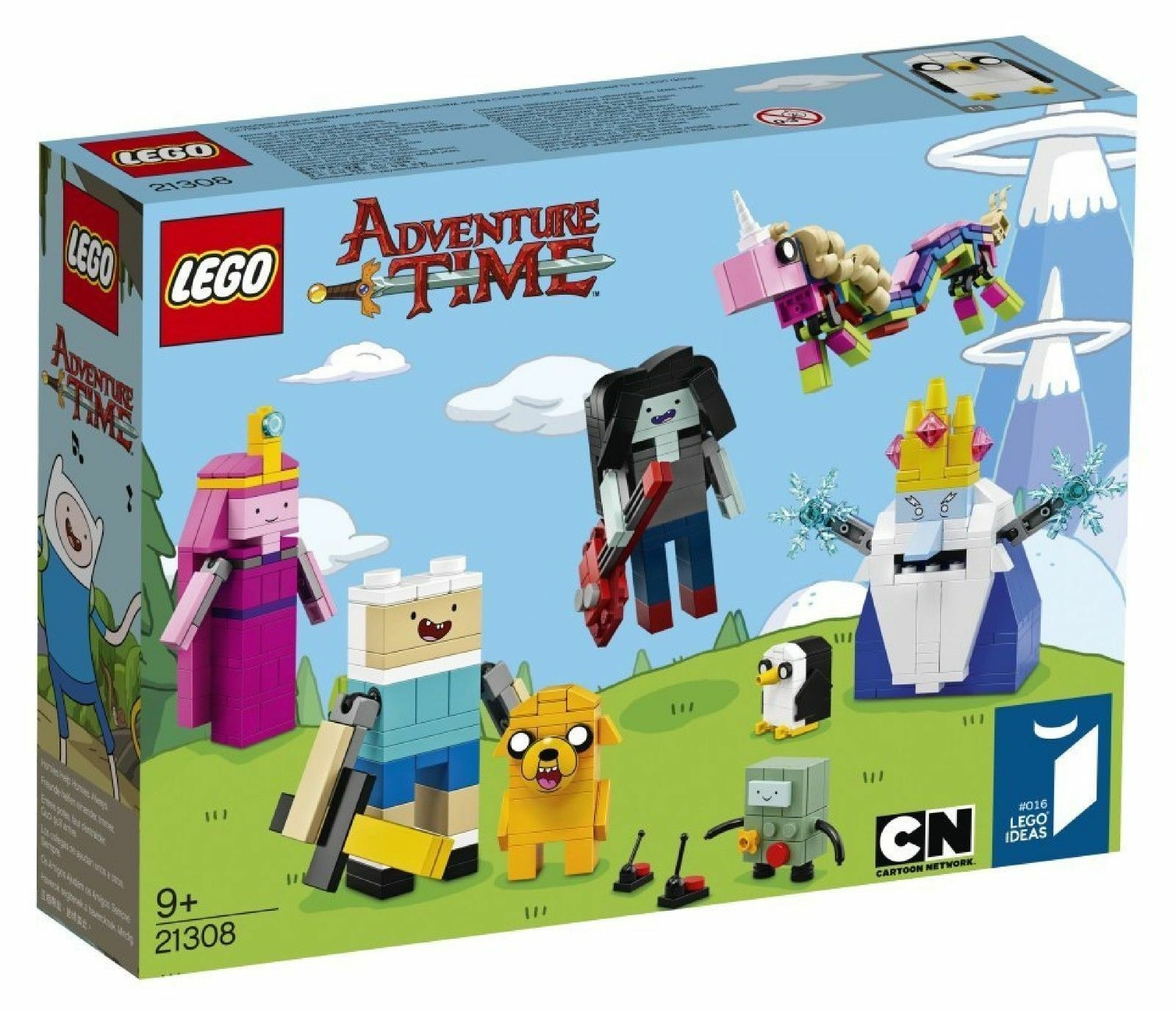 LEGO ADVENTURE TIME  9+ ANNI ART. 21308