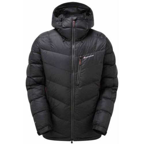 Large Montane Homme Jagged Ice DOWN JACKET NOIR