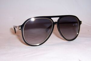 fedafbb7a8 Details about NEW MARC JACOBS SUNGLASSES MARC 174 S 2M2-9O BLACK GOLD GRAY  AUTHENTIC