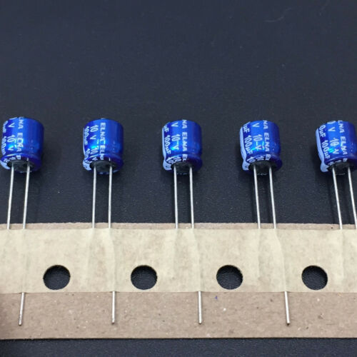 10pcs 10 V 100uF ELNA RC2 6.3x7mm 10V100UF Profil Bas AUDIO condensateur