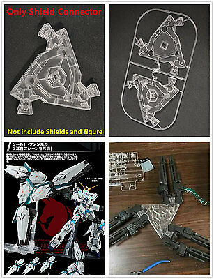 Tails with connector for Bandai RX-0-03 1//100 MG Unicorn 3 Phenex Gundam shields
