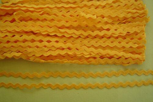 3//6//13//55 METER Zackenlitze Weiß Rot Gelb 5mm Borte Zick zack