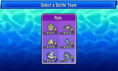 VGC 2018 Pokemon Ultra Sun and Moon Ladder Topping Rain Team | eBay
