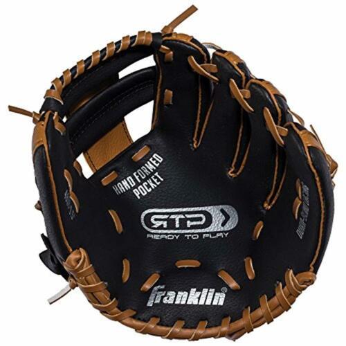Guante y BOLA de beisbol para niños Combo Teeball Izquierdo lanzador derecho