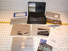 Mercedes 97 W140 320/420/500 Owner's 1 set of 10 Manual &Mercedes leather 1 Case