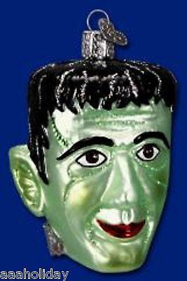 Old World Christmas HALLOWEEN Ornament Frankenstein Head 26052