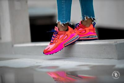 Nike Air Max 270 React At6174 600 Mystic Red Pink Blast