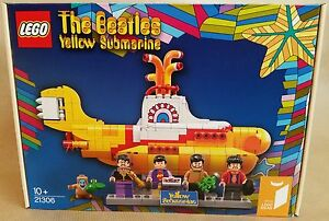 LEGO Ideas, The Beatles - Yellow Submarine, 21306, RARE, NEUF & EN STOCK