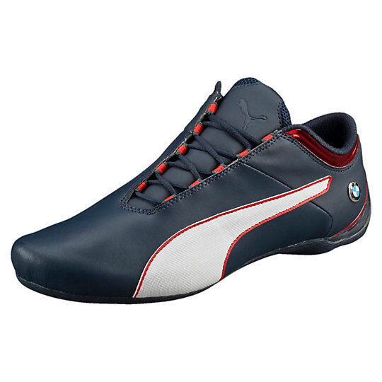PUMA BMW MS Future Cat S2 Mens Blue Leather Lace up SNEAKERS Shoes 10 for  sale online  b9cf58313