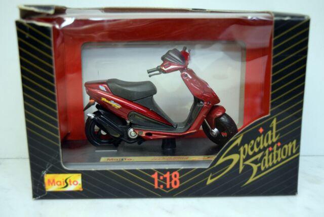 peugeot speedfight roller rot maisto 1 18 günstig kaufen | ebay
