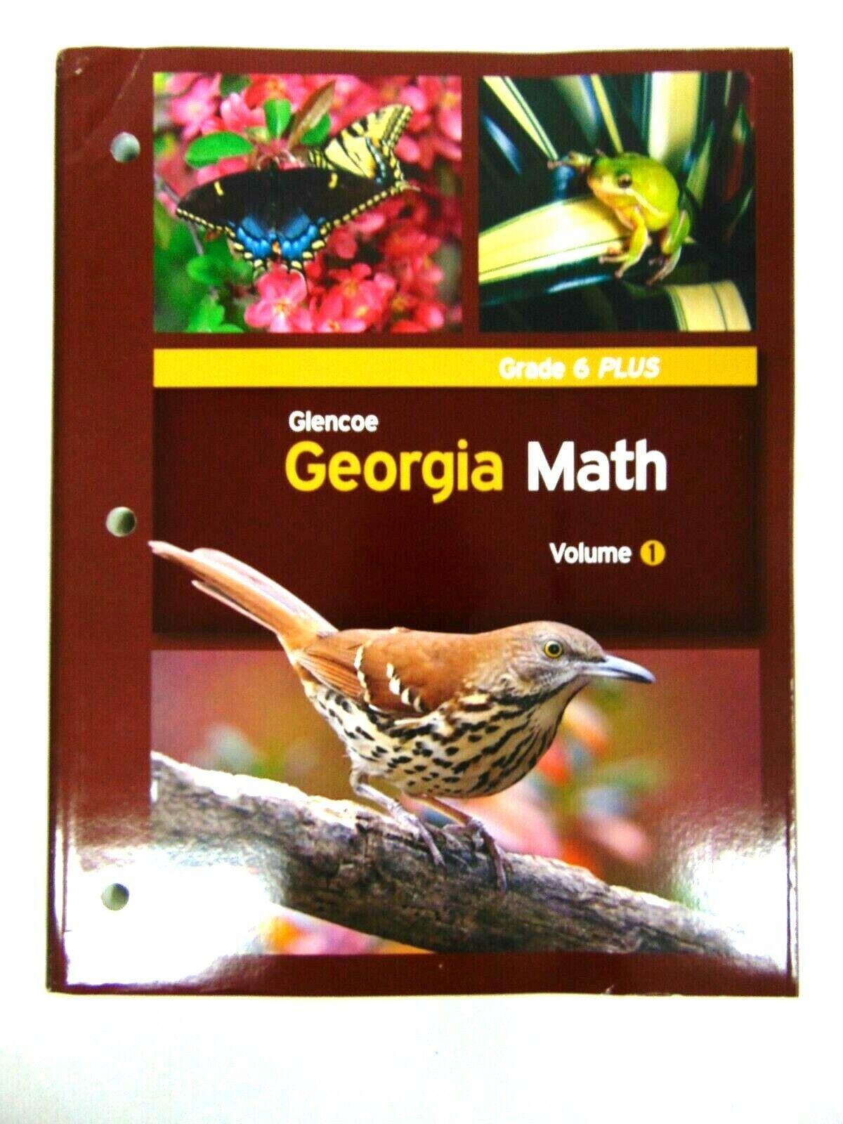 Glencoe Georgia Math Grade 6 Volume 1