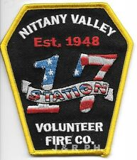 """2.5/"""" x 4/"""" size Pennsylvania fire patch Lima  Station-69  /""""In From Above/"""""""