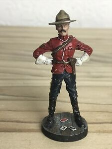 FRANKLIN MINT SERGEANT NORTH WEST MOUNTED POLICE 1890'S INFANTRY DIECAST SOLDIER