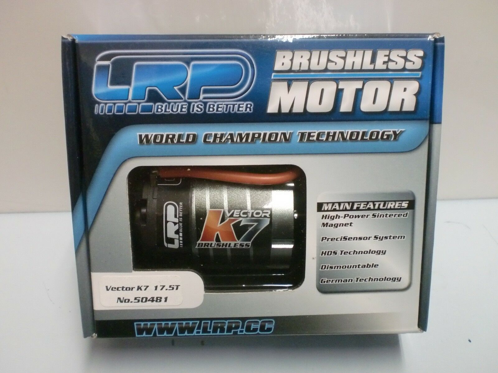 LRP 1 10 - MOTORE BRUSHLESS vector k7 17.5t - ART. 50481