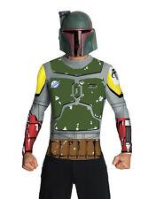 "Star Wars Mens Boba Fett Mask and Top Costume, Medium, CHEST 38 - 40"""