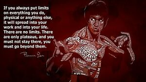 Image Is Loading Bruce Lee Martial Arts Quotes Poster 24 034